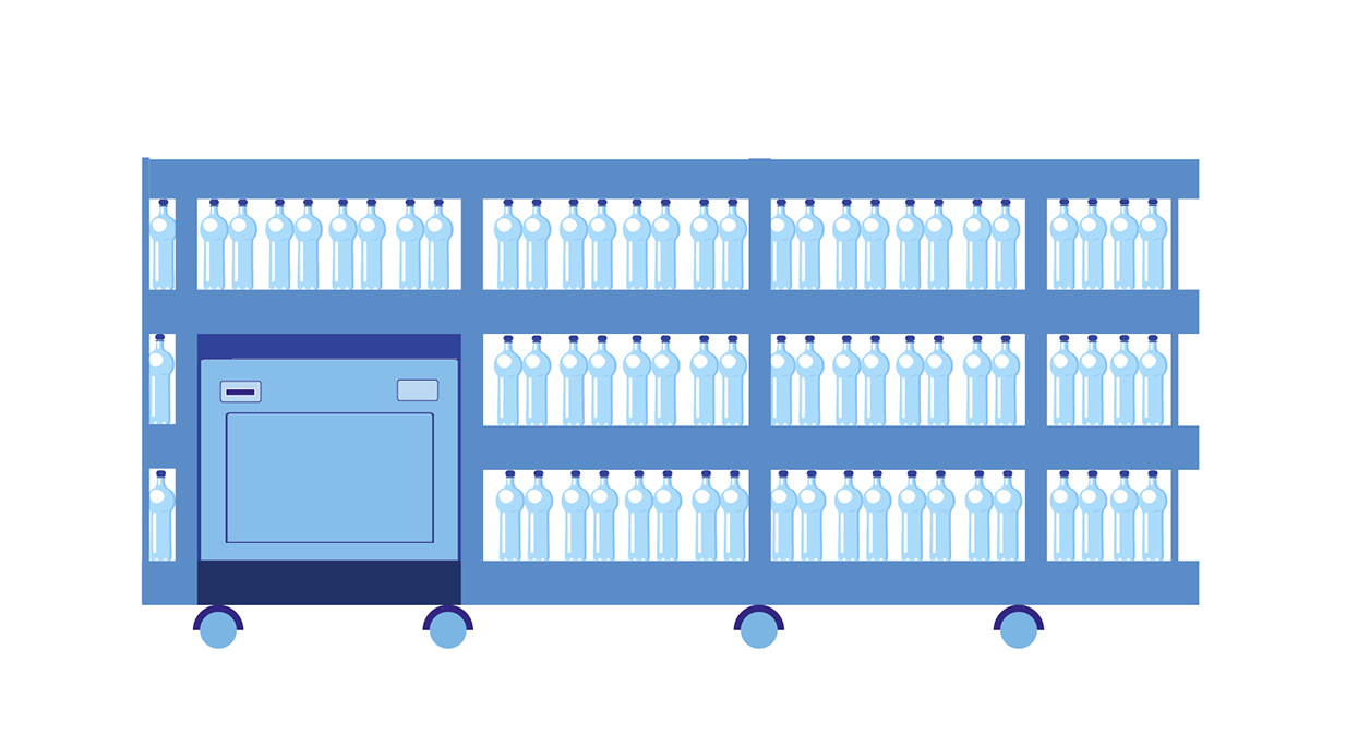 distributori automatici di fardelli d'acqua: Ecco la Revolution 25