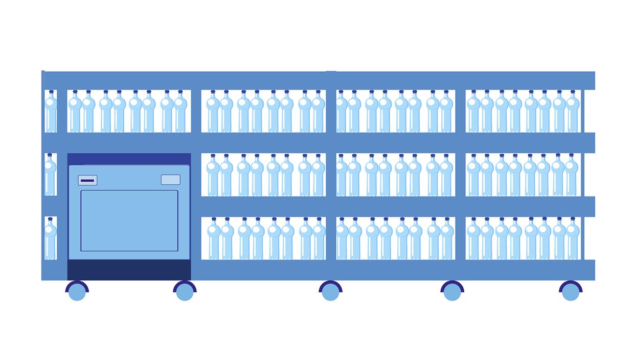 Distributore d'acqua Revolution 30